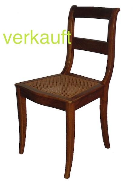 4 Bdm.Stühle Geflecht verk