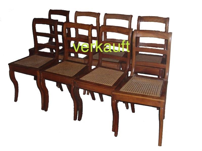 8 Stühle Bdm Kb vk