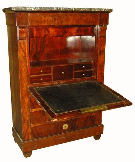 verkauft biedermeier sekret r mahagoni edeltr del antike m bel. Black Bedroom Furniture Sets. Home Design Ideas