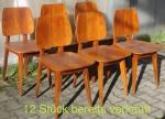 Verkauft 12 Art Deco Stühle Esche