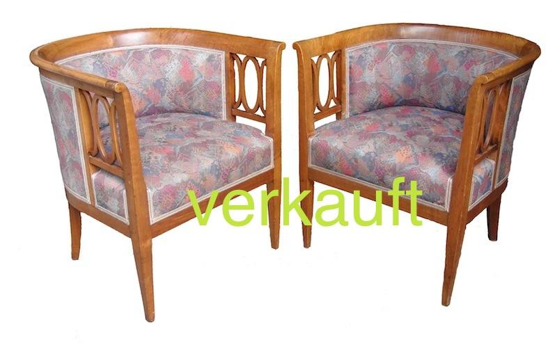 Verkauft 1 paar sehr formsch ne sessel edeltr del for Sessel halbrund