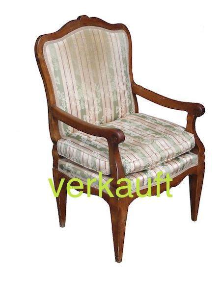 Verkauft Fauteuil Bdm. Nb