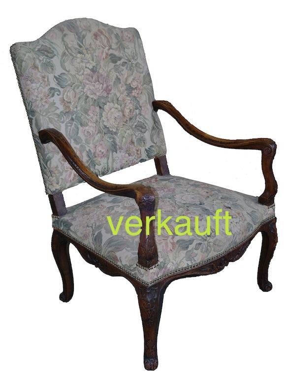 Verkauft Fauteuil LXV