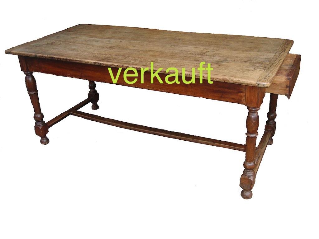 Verkauft Klostertisch, Eichenblatt