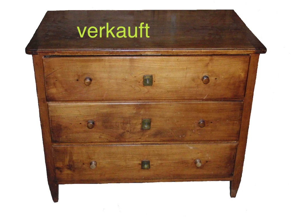 verkauft kleine luzerner biedermeier kommode kirschbaum edeltr del antike m bel. Black Bedroom Furniture Sets. Home Design Ideas