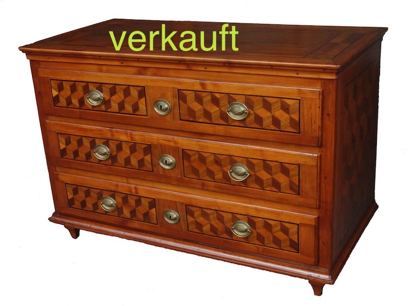 Verkauft Kommode LXVI Schachbrett
