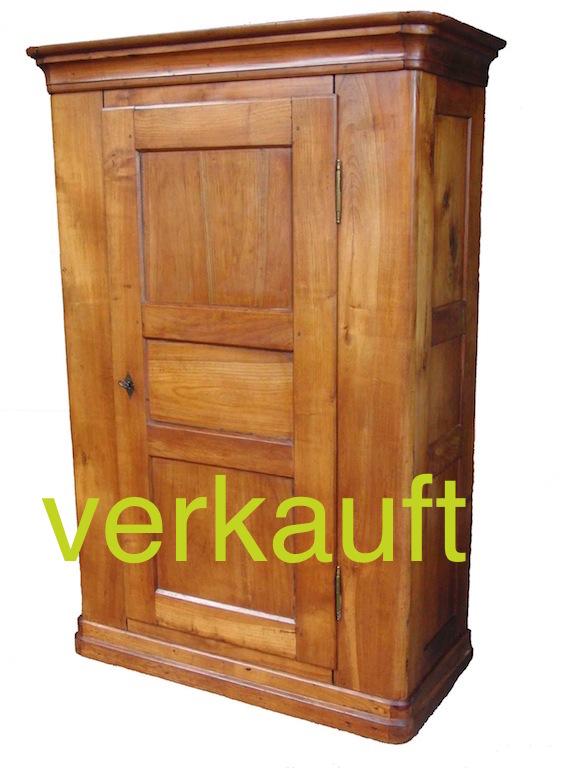 Verkauft: Antiker Schrank, Kirschbaum, Biedermeier - Edeltrödel ...