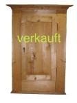 Verkauft Schrank T Bdm. 1-tür., breiter Kranz