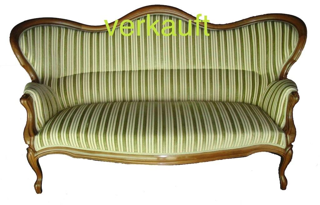 Verkauft Sofa L.Phil grünlich