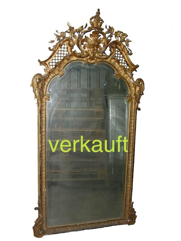 Verkauft Spiegel Rokoko