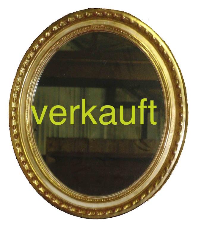 Verkauft Spiegel oval