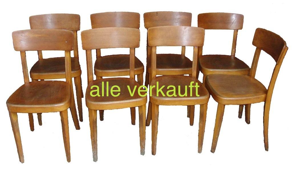 Verkauft Stühle 40-er Horgen-Glarus