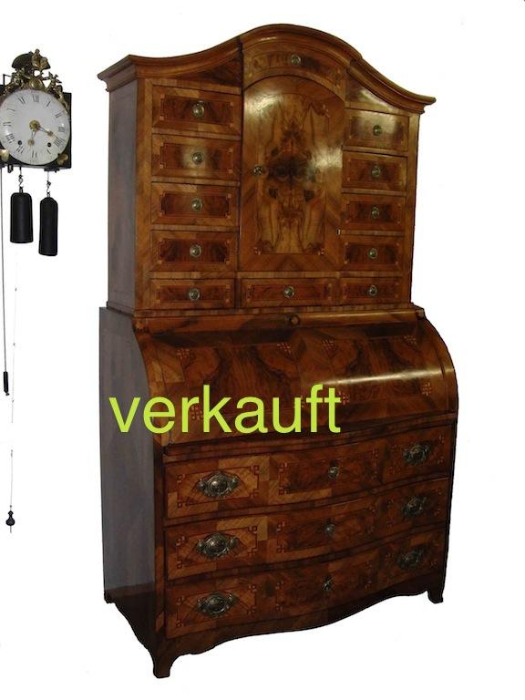 Verkauft Herausragender Tabernakel Sekretär Edeltrödel Antike Möbel
