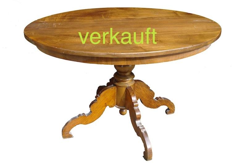 Verkauft Tisch L.Phil. oval