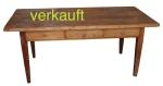 Verkauft Tisch T. 3 Schubl mächtig