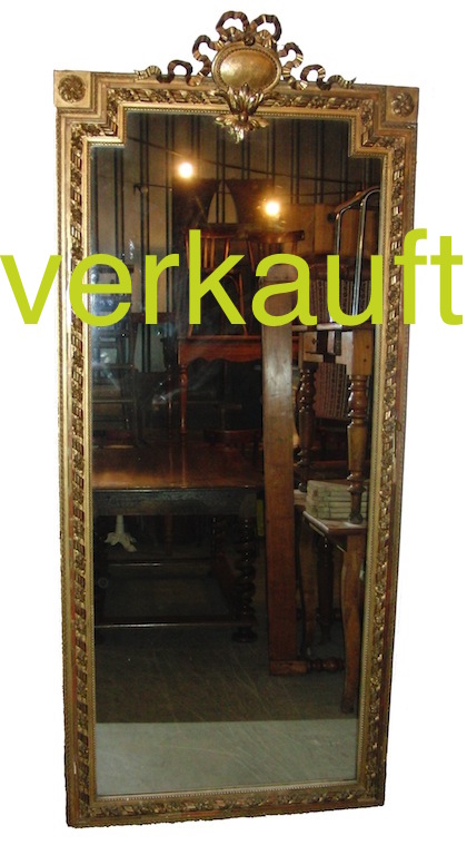 Verkauft sehr grosser Spiegel LXV