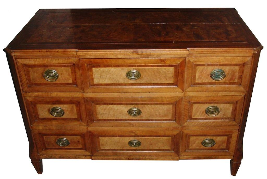 verkauft sehr sch ne kommode louis xvi nussbaum edeltr del antike m bel. Black Bedroom Furniture Sets. Home Design Ideas