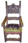 Verkauft Stuhl Renaissance 1672