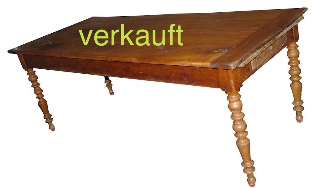 Verkauft Tisch m. 2 Auszügen Schubl