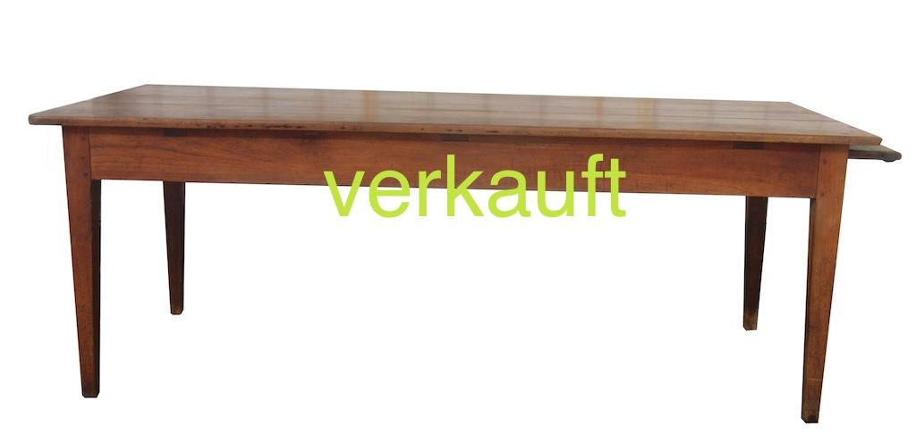 Verkauft Biedermeiertisch1 gerade Beine Kb