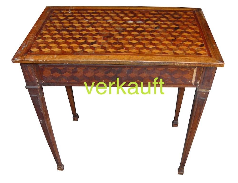 Verkauft Tischchen L.XVI 1