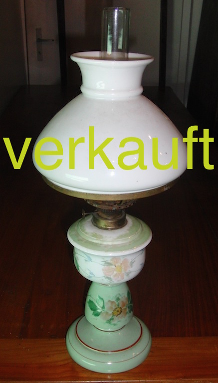 Verkauft Tischpetrollampe1