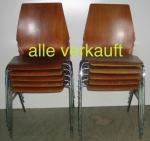 Verkauft Stühle H-G 60er JahreA