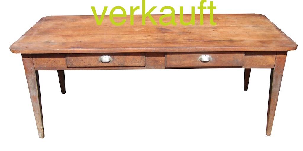 Verkauft Tisch 30 Juli13A