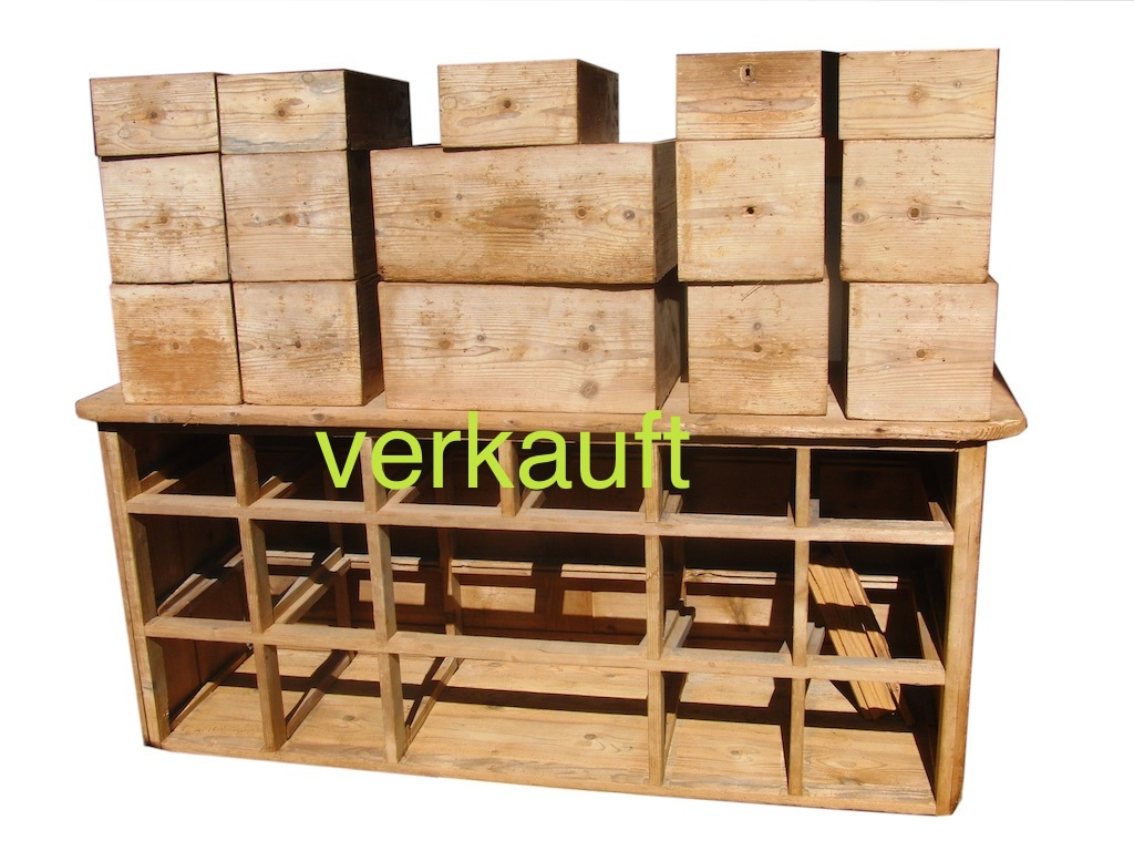 Verkauft Schubladenstock 1 fehlt Aug13