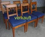 Verkauft 6 Stühle Bdm blauNov13A
