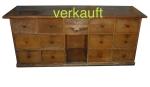 Verkauft Schubladenstock unabgelaugtDez13A