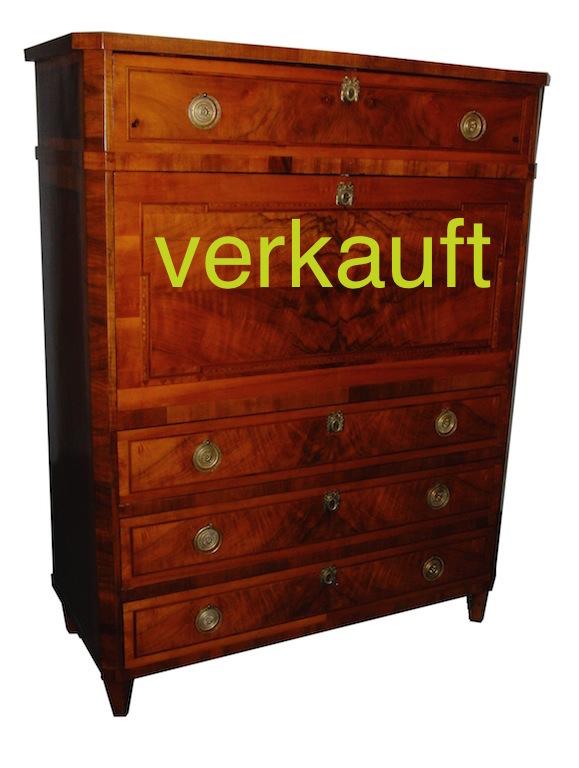 Verkauft Sekretär LXVI schön Jan14A