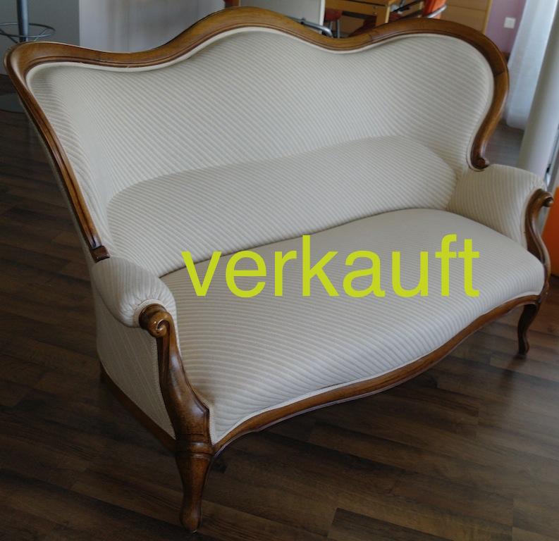 Verkauft Sofa L.Phil. weissFeb14A