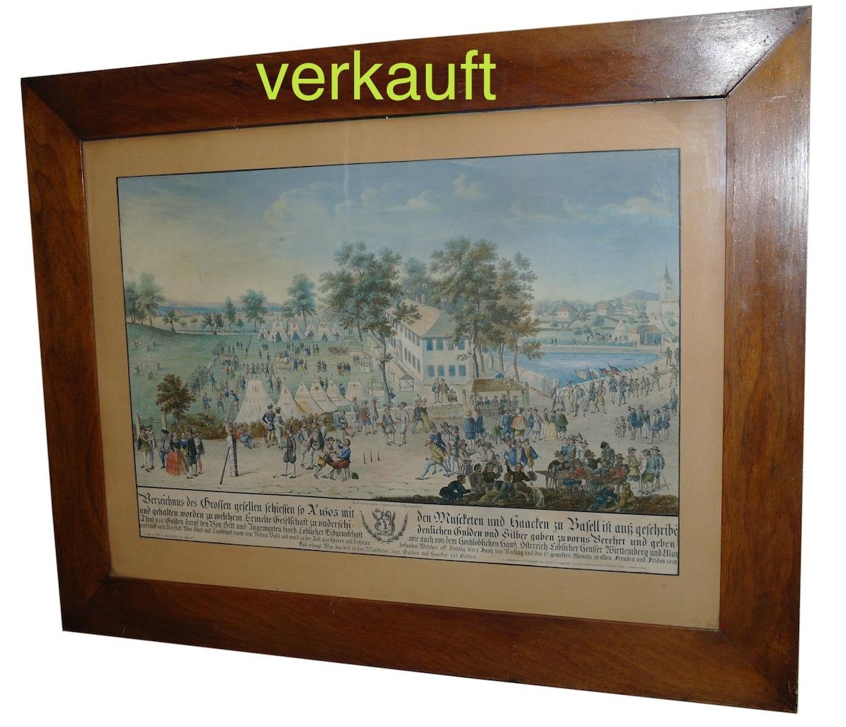 Verkauft Gesellenschiessen Basel März14A