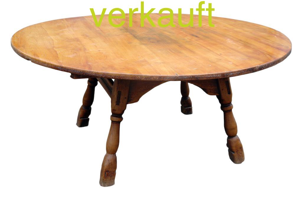 Verkauft Luzerner Tisch rund140 Mrz14A