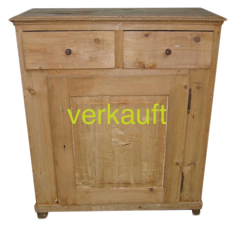Verkauft Anrichte T 2Schubl Jan14A2