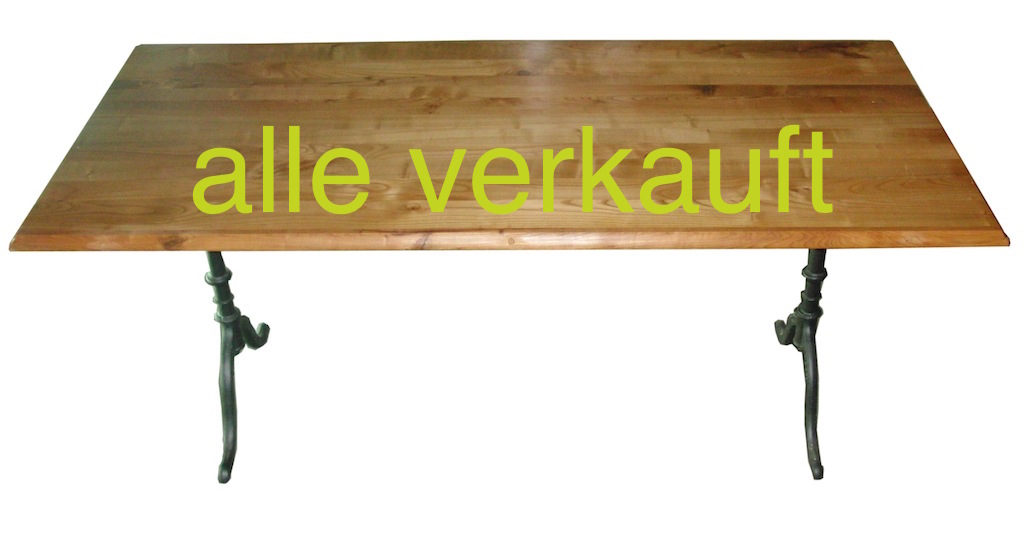 Verkauft: Bistrotisch Kb 180 cm Juni14A