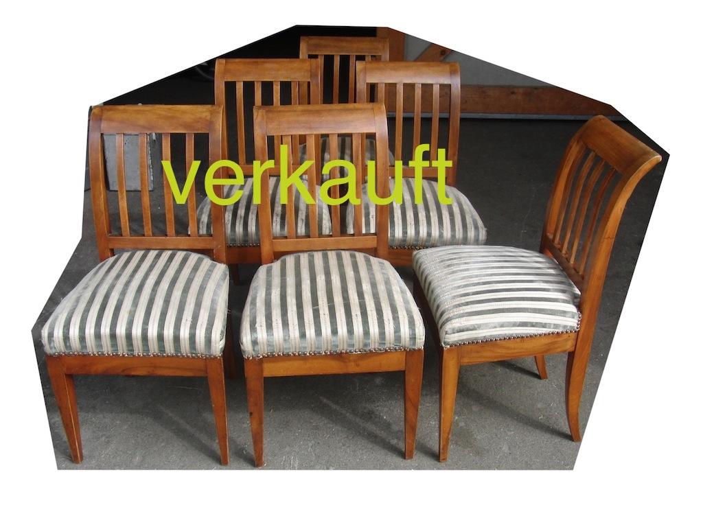 6 Stühle Bdm Bern Juni14A verkauft