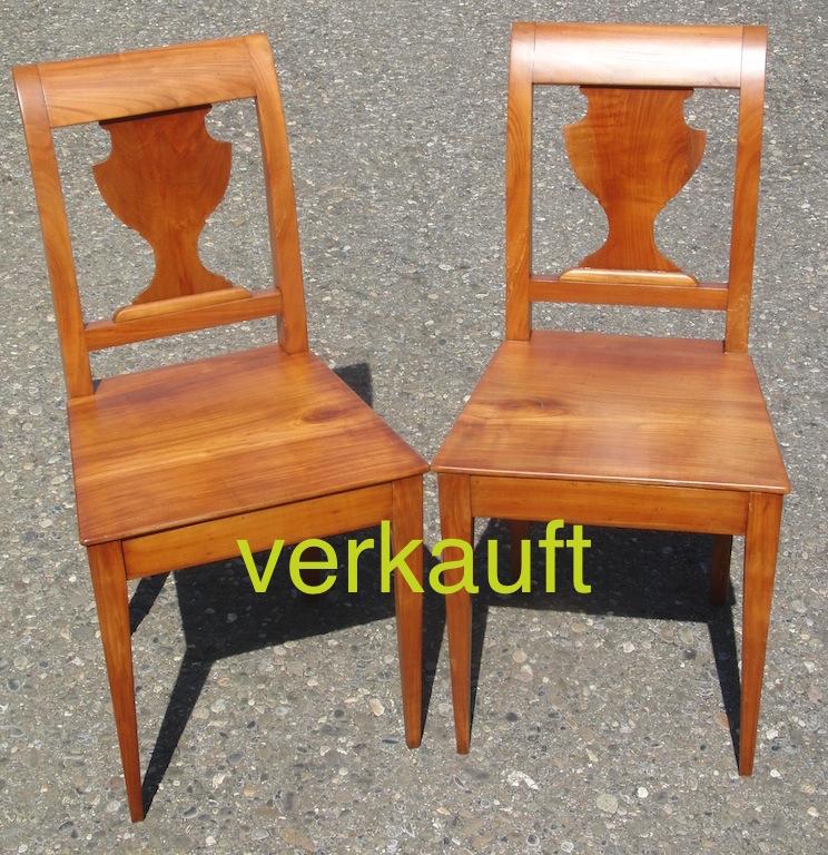 Verkauft 2 Stühle Bdm Kb, Vase, Juni14A