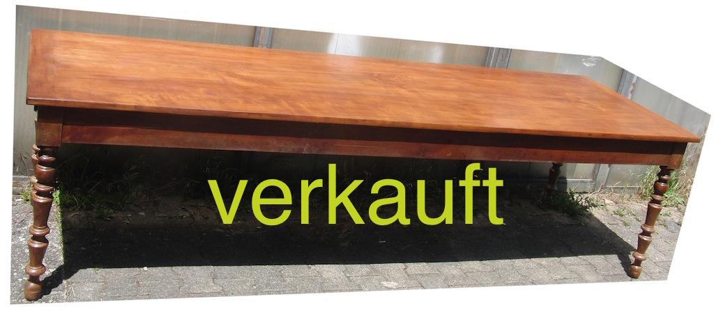 Verkauft Tisch Kb 280cm Juni14A