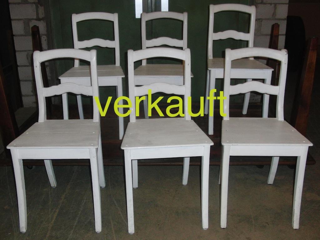 6 Stühle Bdm weiss Sept14A verkauft