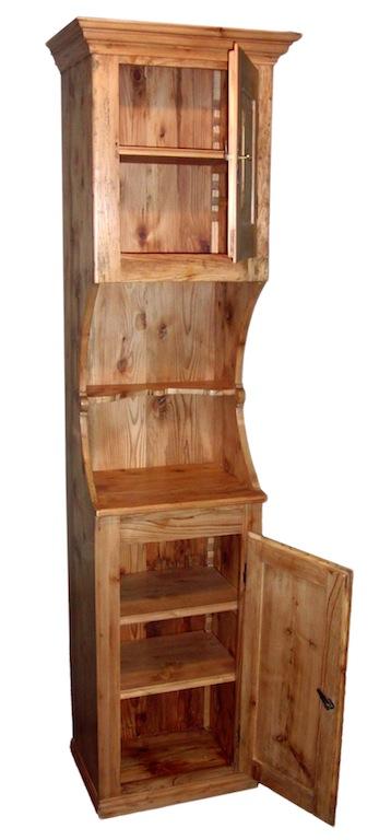 verkauft extrem schmales buffet tanne komplett. Black Bedroom Furniture Sets. Home Design Ideas