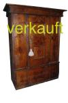 Verkauft Fricktaler Schrank braun Okt14A