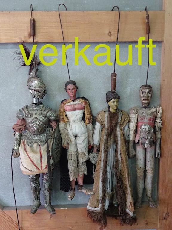 Verkauft 4 Marionetten Nov.14A