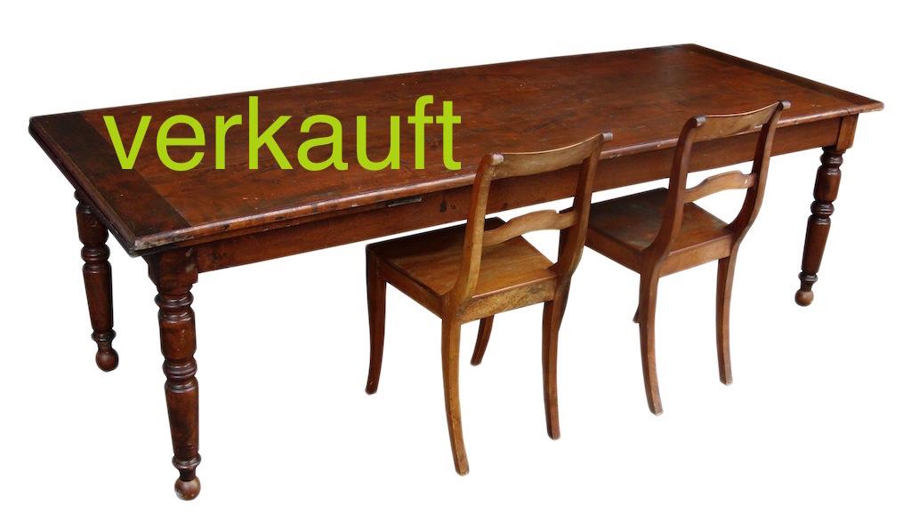 Verkauft Tisch Kastanie Nov14A