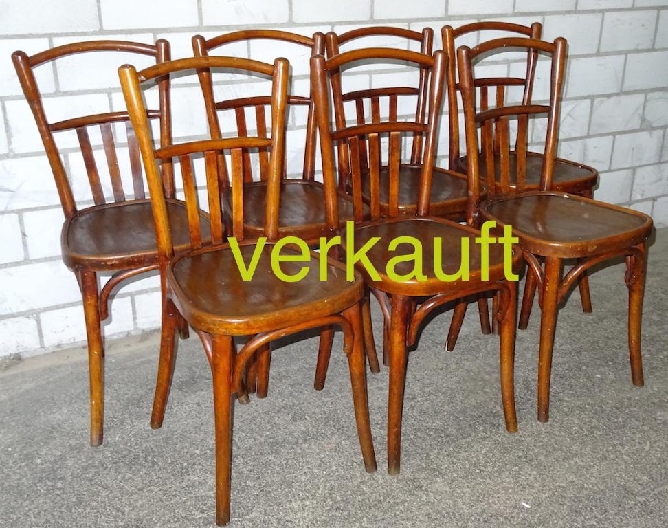 7 Bistro-Stühle Dez14A verkauft