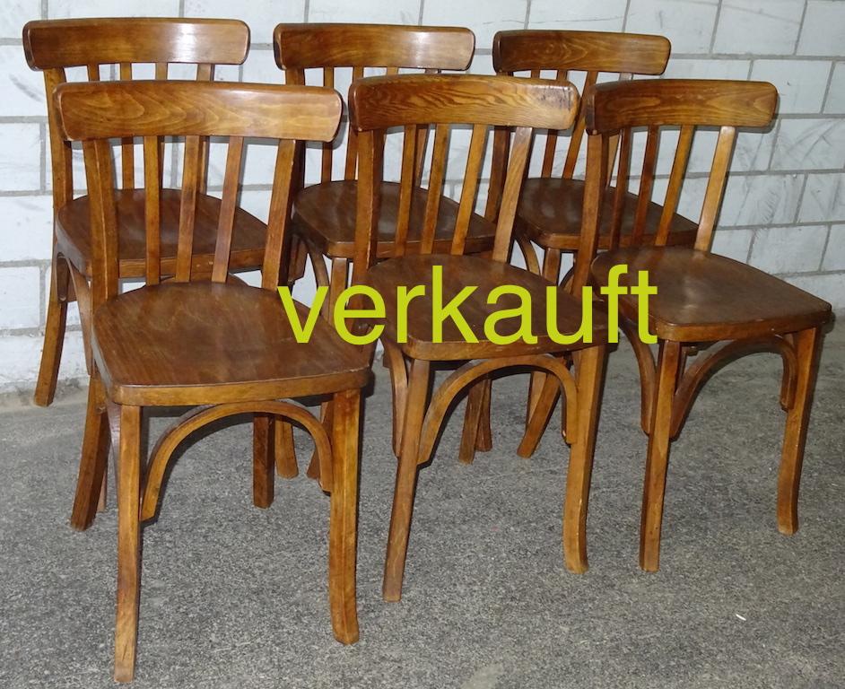 Verkauft 6 Stühle halbrund dunkel Dez14A
