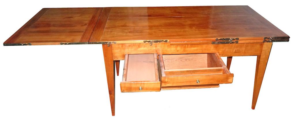verkauft herrlicher berner biedermeier tisch ausziehbar kirschbaum edeltr del antike m bel. Black Bedroom Furniture Sets. Home Design Ideas