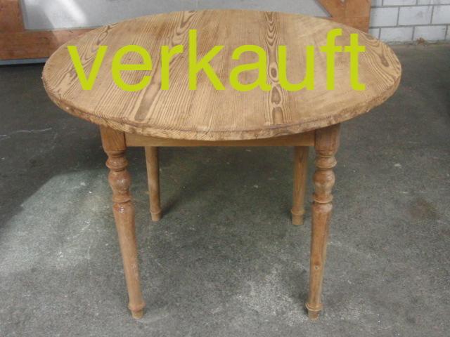 Tisch T rund April15A verkauft