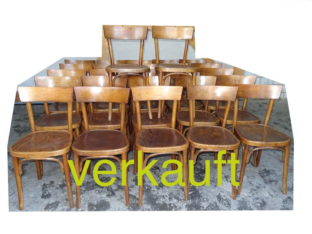 Verkauft 27 Stühle Thonet März15A